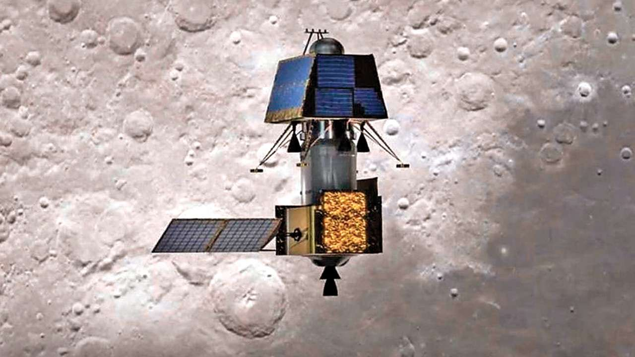 Chandrayaan-2 spots its lander