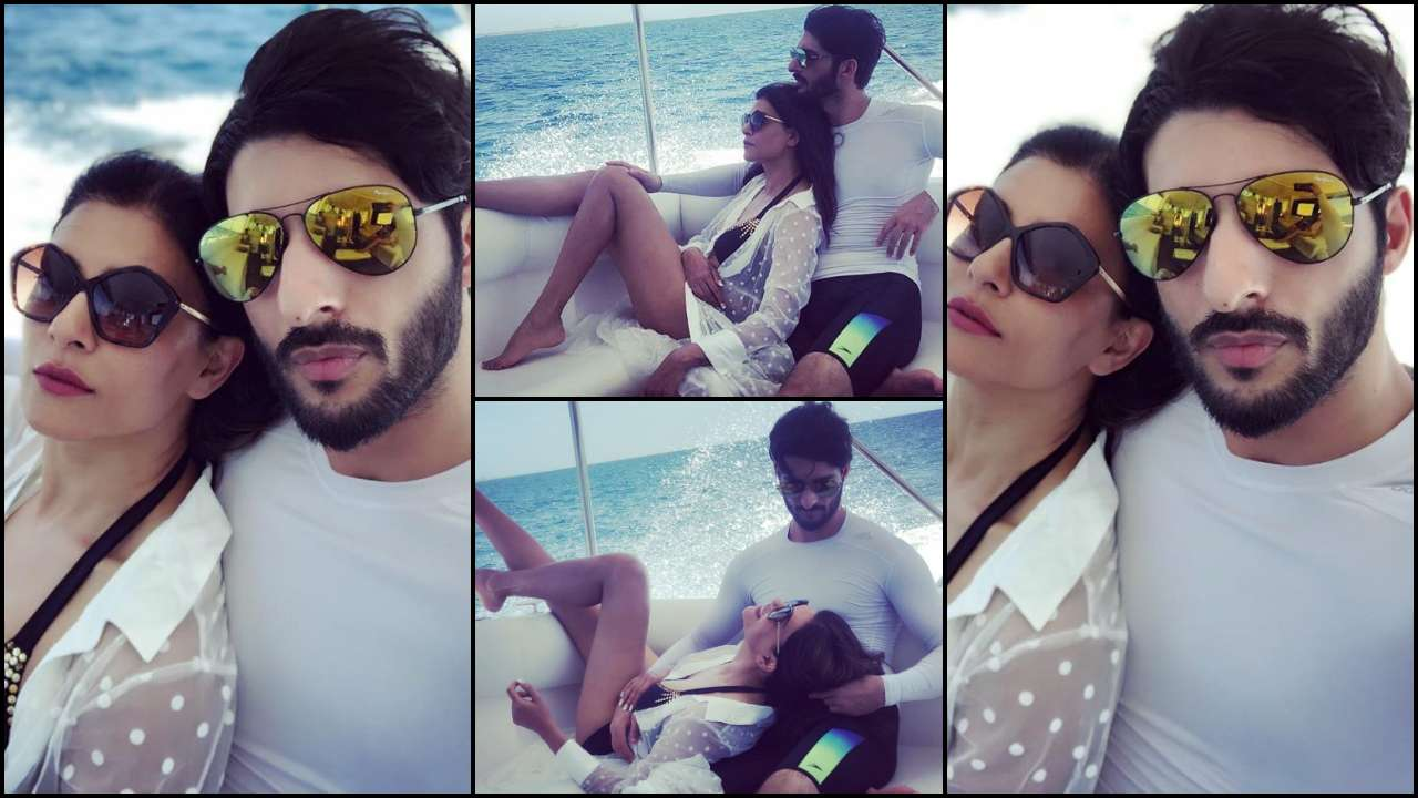 Sushmita Sen has a romantic time with 'love' Rohman Shawl on a yacht and the photos are too hot to miss