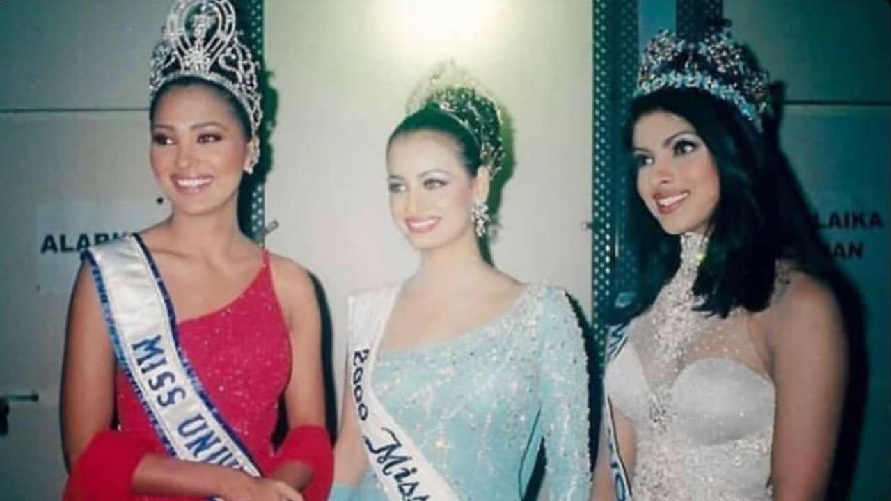 'I admired you then and even now': Former beauty queens Priyanka Chopra, Lara Dutta, Dia Mirza shower love on each other