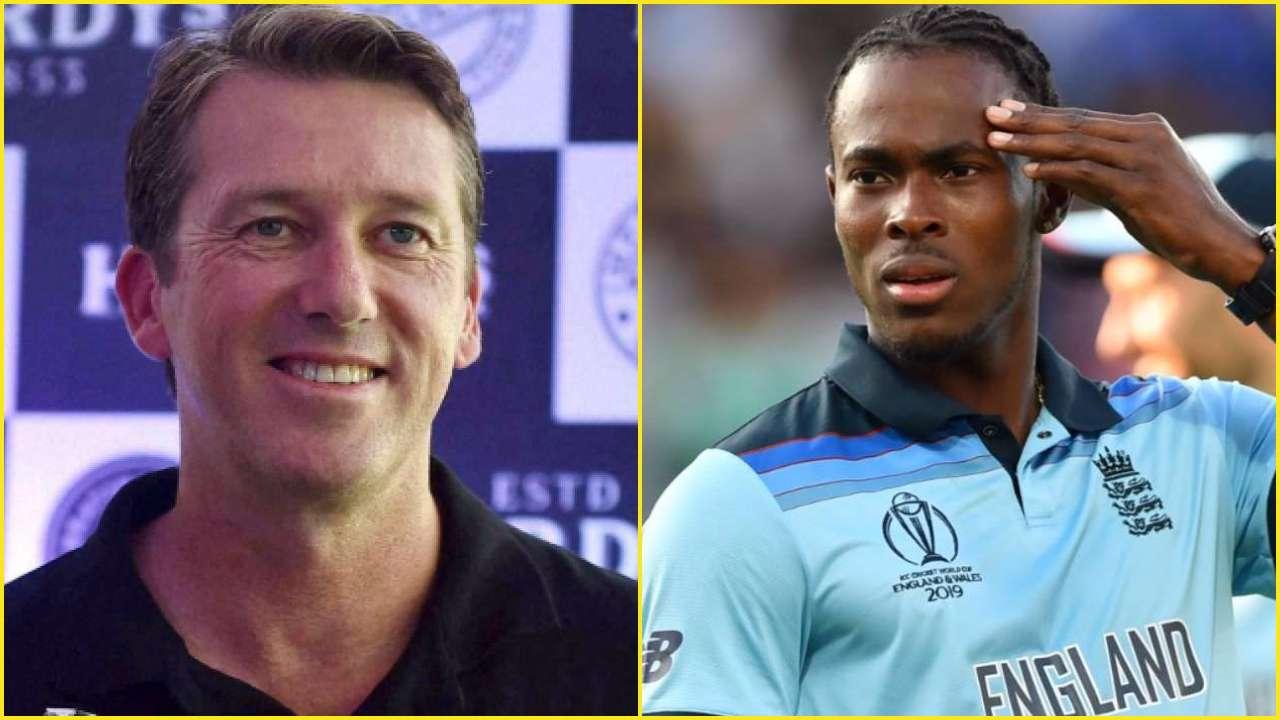 Jofra Archer finally responds to Aussie legend Glenn McGrath's criticism