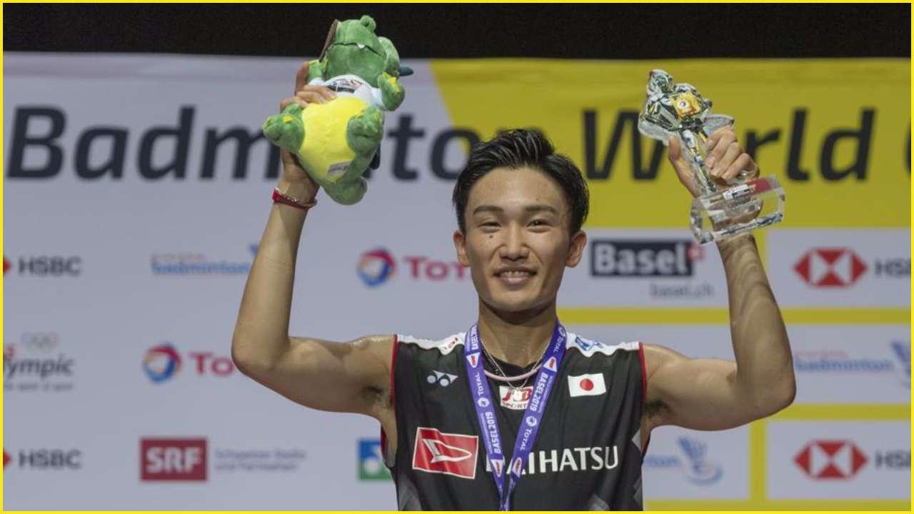 Japan's Kento Momota beat Taiwan's Chou Tien-Chen to win Korea Open final