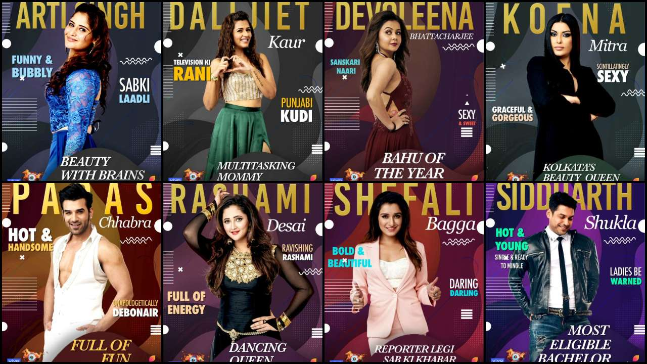 Bigg Boss 13 Contestants Full List Dalljiet Devoleena