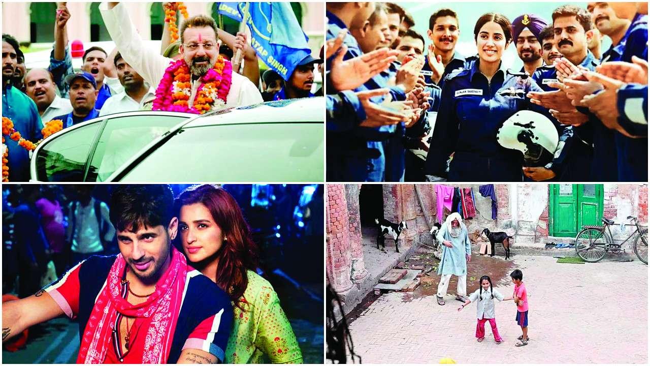 From Pati Patni Aur Woh Gulabo Sitabo To Gunjan Saxena The Kargil Girl Bala Lucknow Calling For Bollywood
