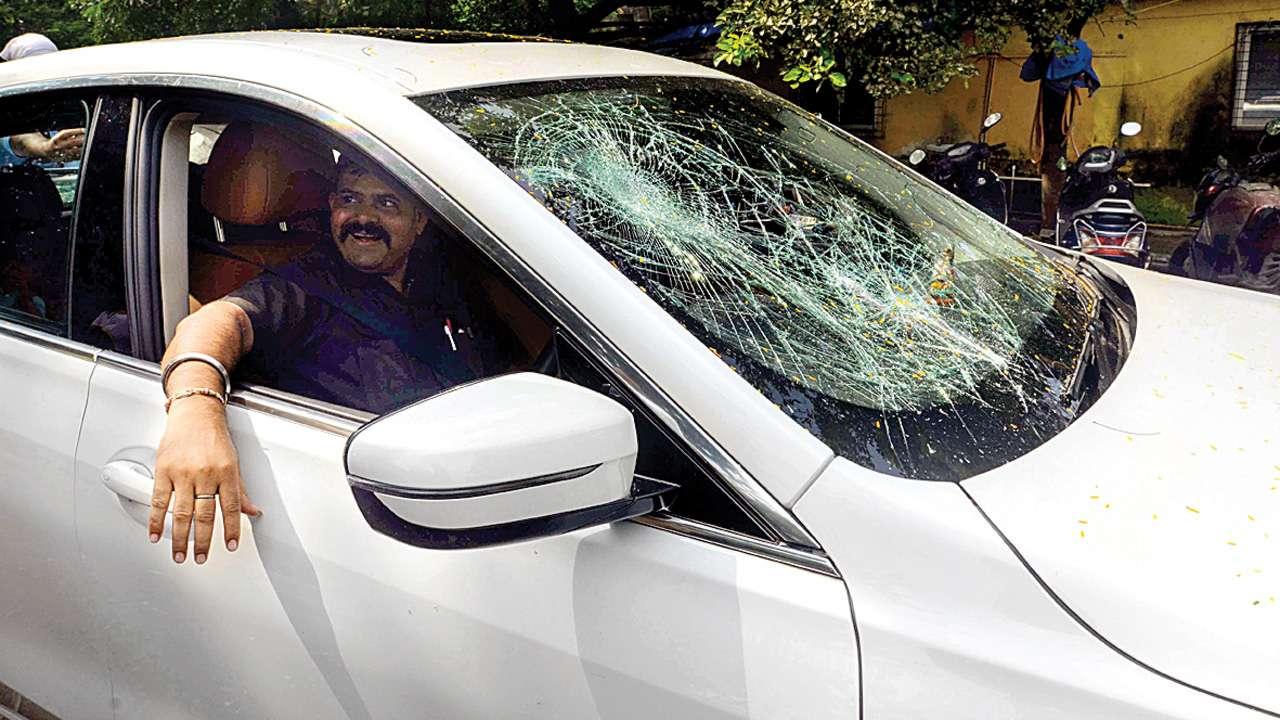 Maharashtra Assembly polls: Parag Shah's car vandalised