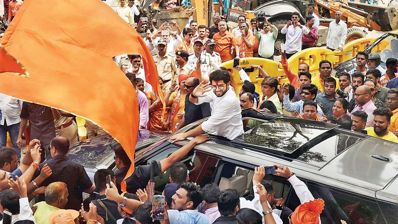 Maharashtra Assembly polls: Aaditya Thackeray's nomination, a paradigm shift for Shiv Sena