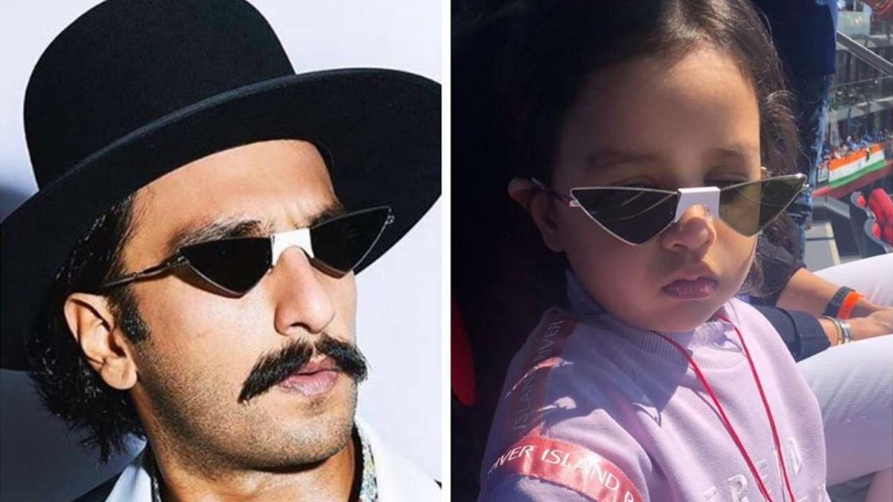 Did Ranveer Singh wear MS Dhoni's daughter Ziva Dhoni's shades at Elle Beauty Awards 2019? 4-year-old feels so