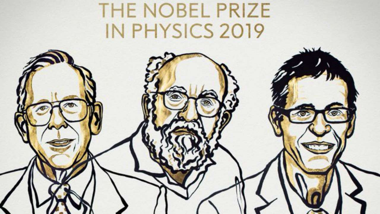 Three scientists awarded 2019 Nobel Prize for Physics for discoveries in cosmology