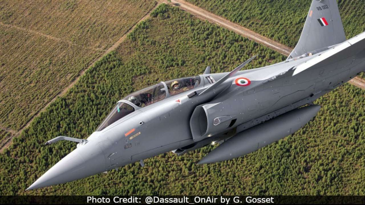 Rafale RB 002: Dassault releases new photos of Indian Air Force's ...
