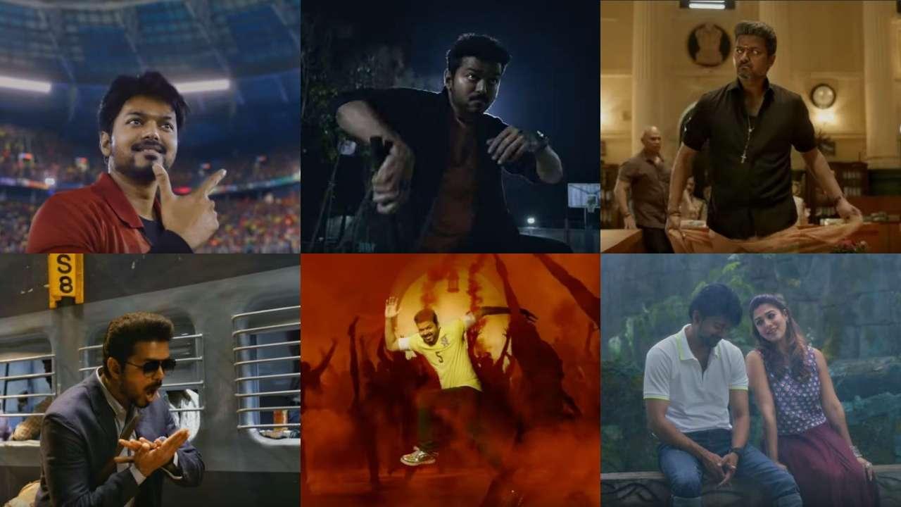 Bigil - Official Trailer | Thalapathy Vijay, Nayanthara- A.R Rahman-Atlee
