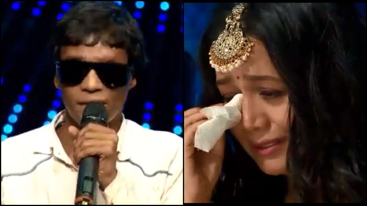 'Indian Idol 11': Neha Kakkar couldn't hold back her tears after knowing a contestant set himself on fire