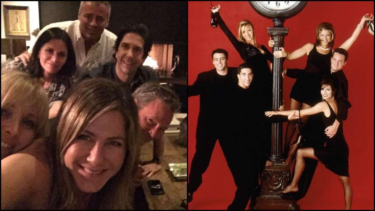 Reunion! Jennifer Aniston joins Instagram, shares a selfie with 'Friends' co-stars Courteney, Lisa, Matt, Matthew, David
