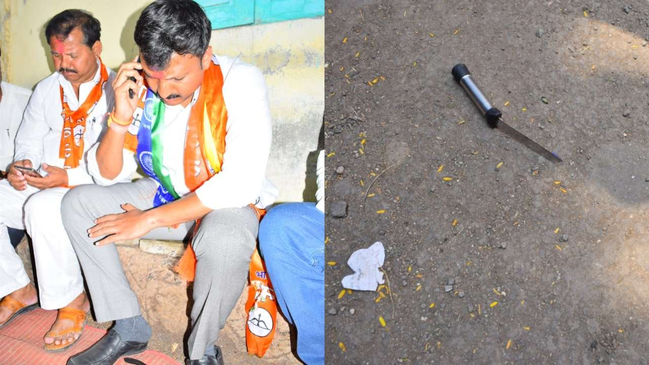 Shiv Sena MP Omraje Nimbalkar attacked by knife-wielding man at rally ahead of Maharashra assembly polls