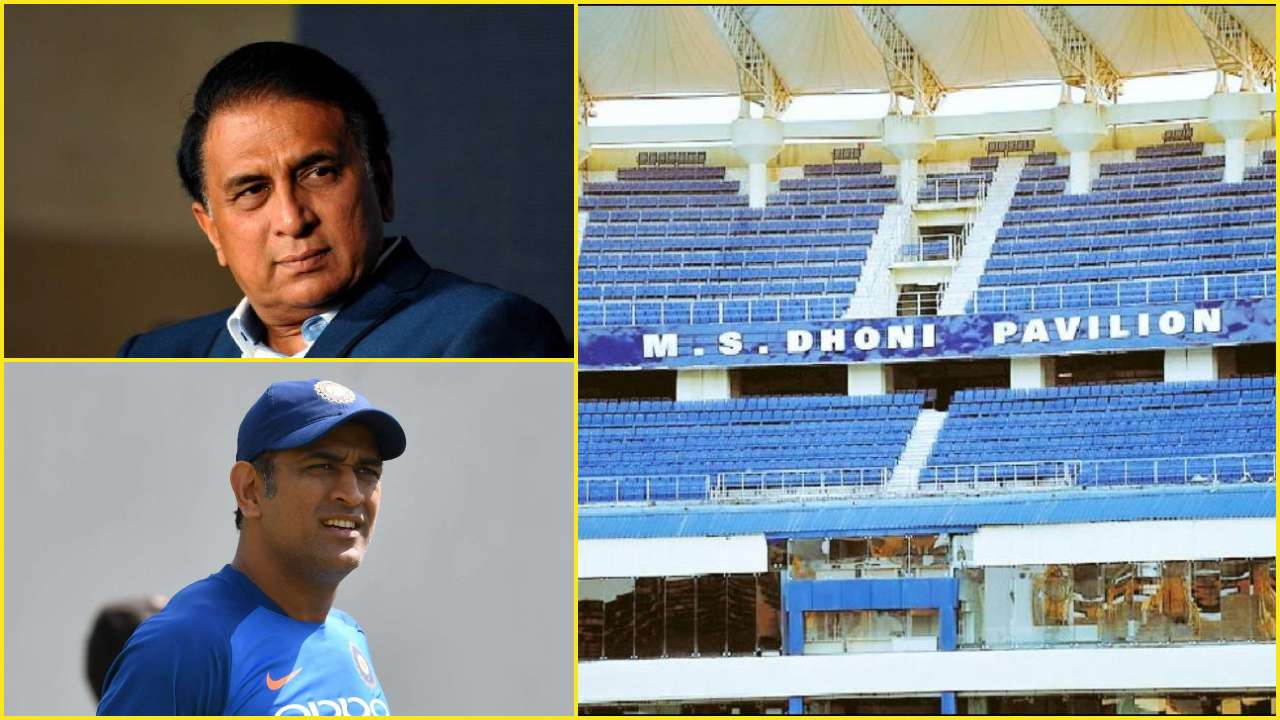 Sunil Gavaskar urges JSCA to rename Ranchi stadium after MS Dhoni