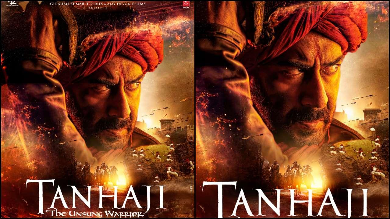 'Tanhaji: The Unsung Warrior': Ajay Devgn is fierce as a fearless battler in the first look