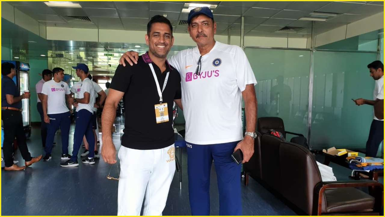 India vs South Africa: Ravi Shastri commends MS Dhoni as 'A true Indian legend in his den' after Ranchi Test victory