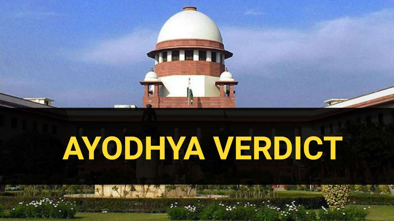 Image result for Supreme court Ayodhya Highlights