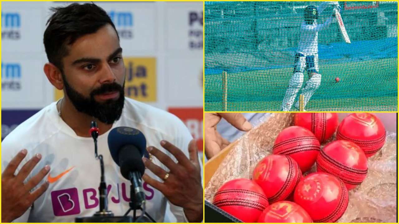 Ind Vs Ban Virat Kohli Reveals His First Experience With Pink Ball Ahead Of India S Historic Kolkata Test