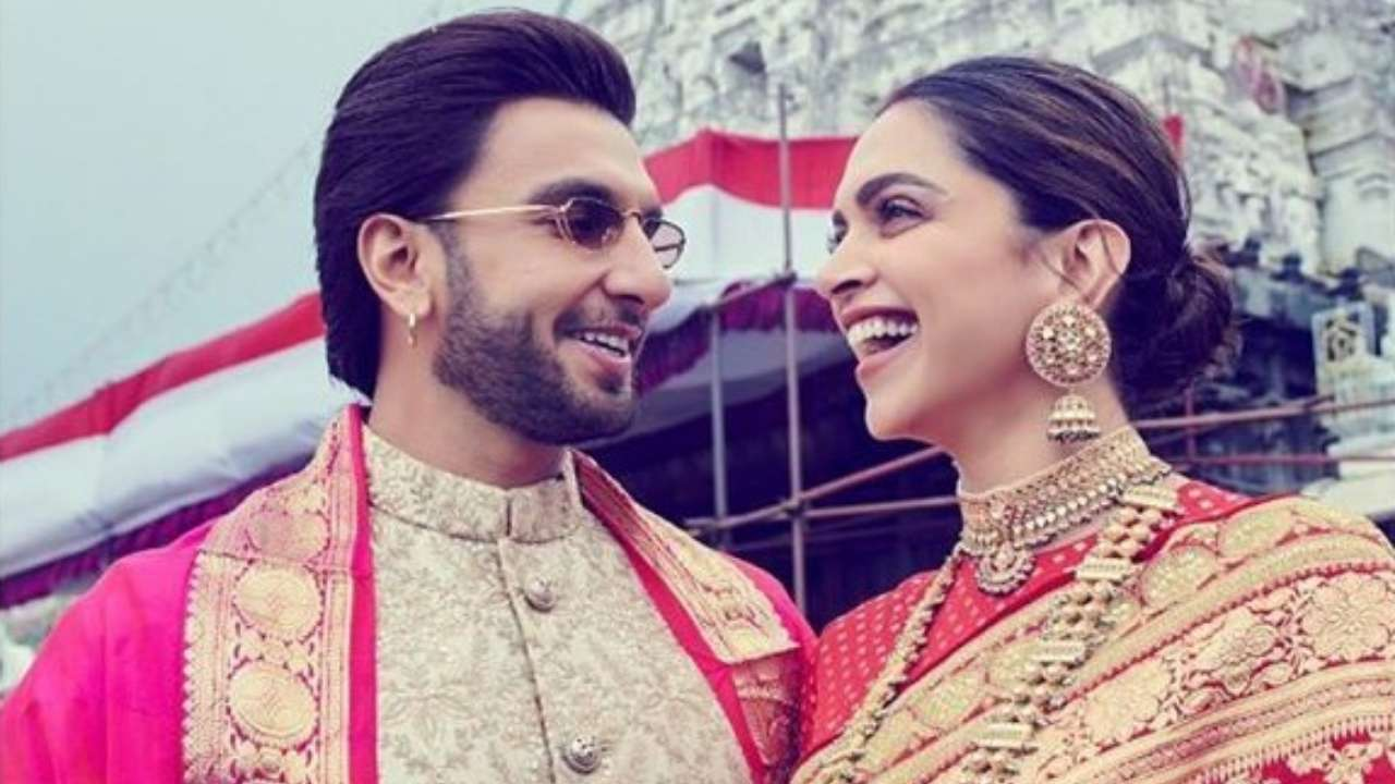Gorgeous And How Deepika Padukone Shares A Beautiful Photo With Ranveer Singh On Their First Wedding Anniversary