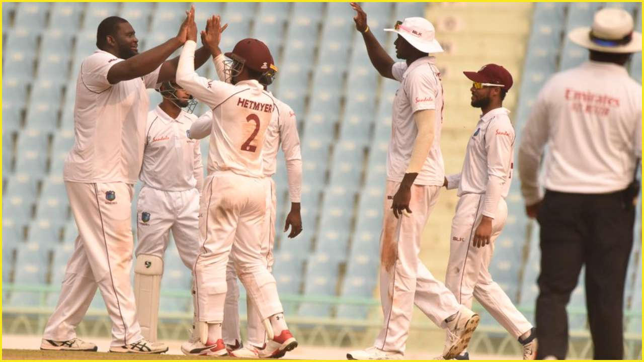 AFG vs WI: Rahkeem Cornwall's 10-wicket hall and Shamarh Brooks' 111 help West Indies finish day 2 on top