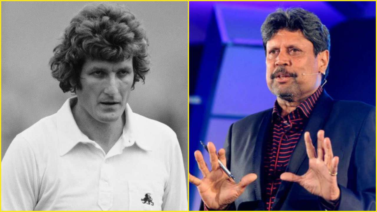 Kapil Dev reveals why late Bob Willis was a 'terror to face' as a bowler