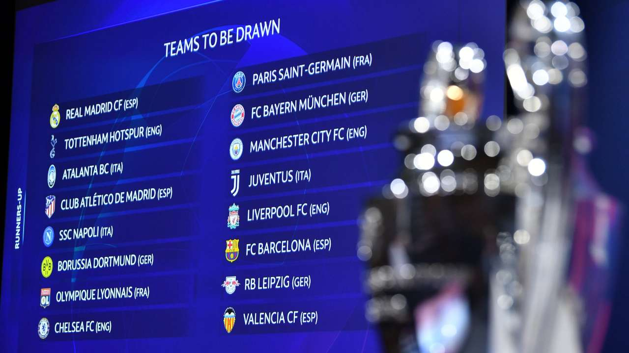 Image result for champions league draw