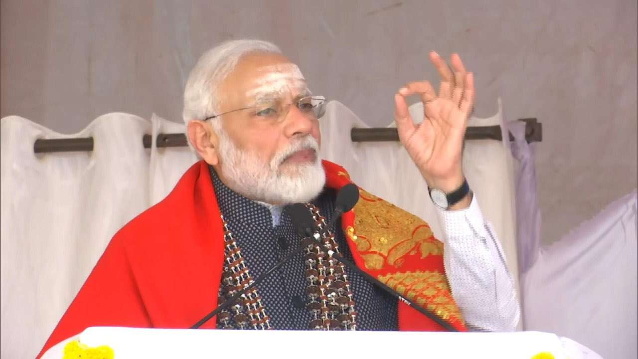 If you have to agitate, raise your voice against Pakistan': PM Modi to  anti-CAA protesters