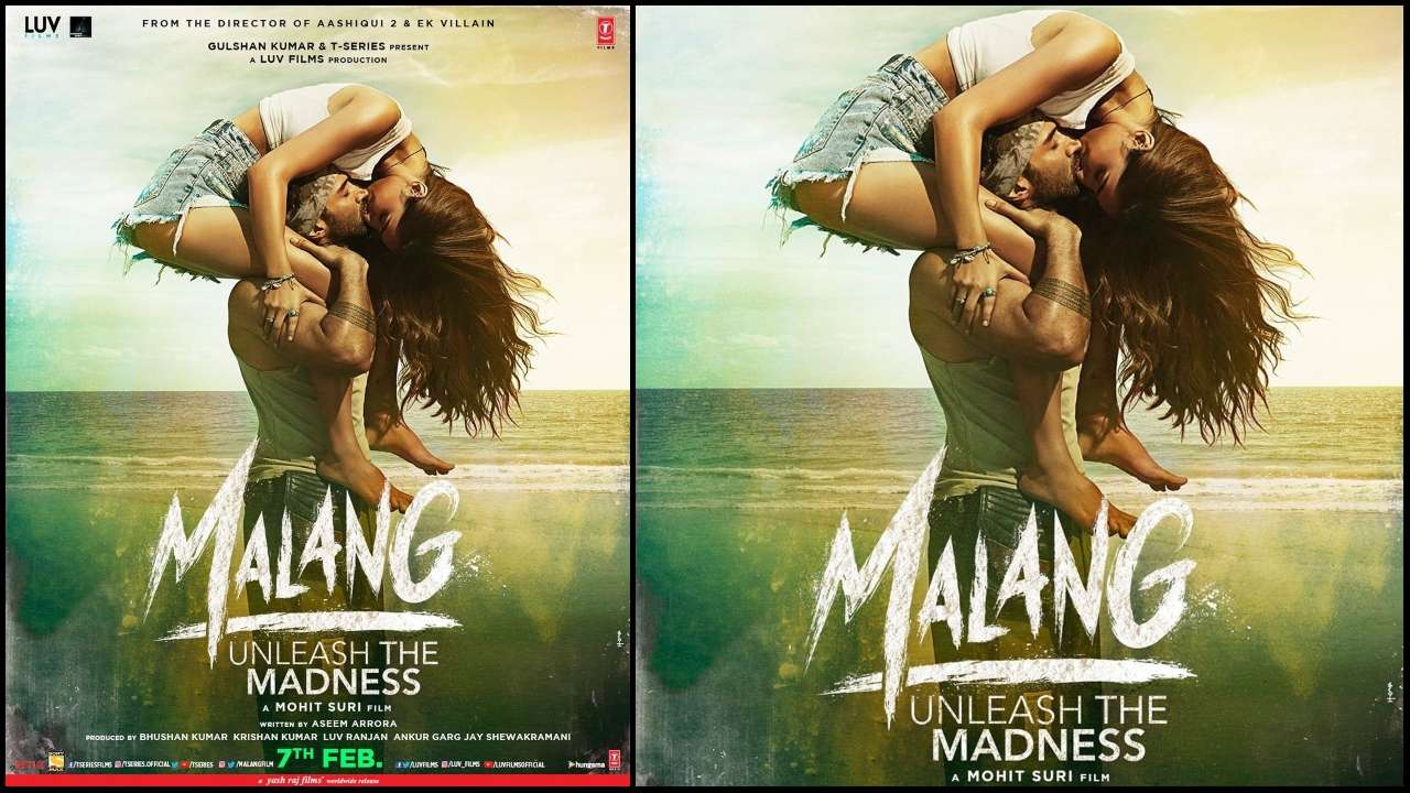 Aditya Roy Kapur And Disha Patani Are Two Wild Souls One Love In Malang S Latest Poster