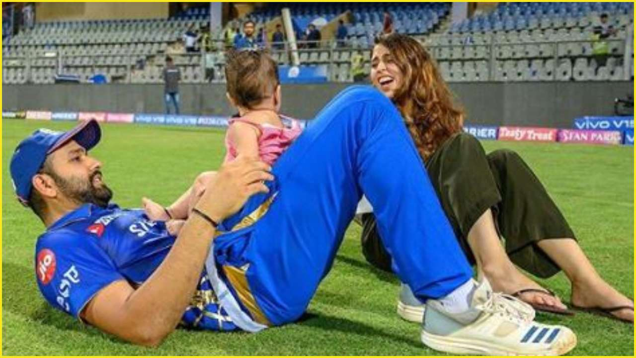 Rohit Sharma Thanks Wife And Daughter For Helping Him Be In Blistering Form Throughout 2019