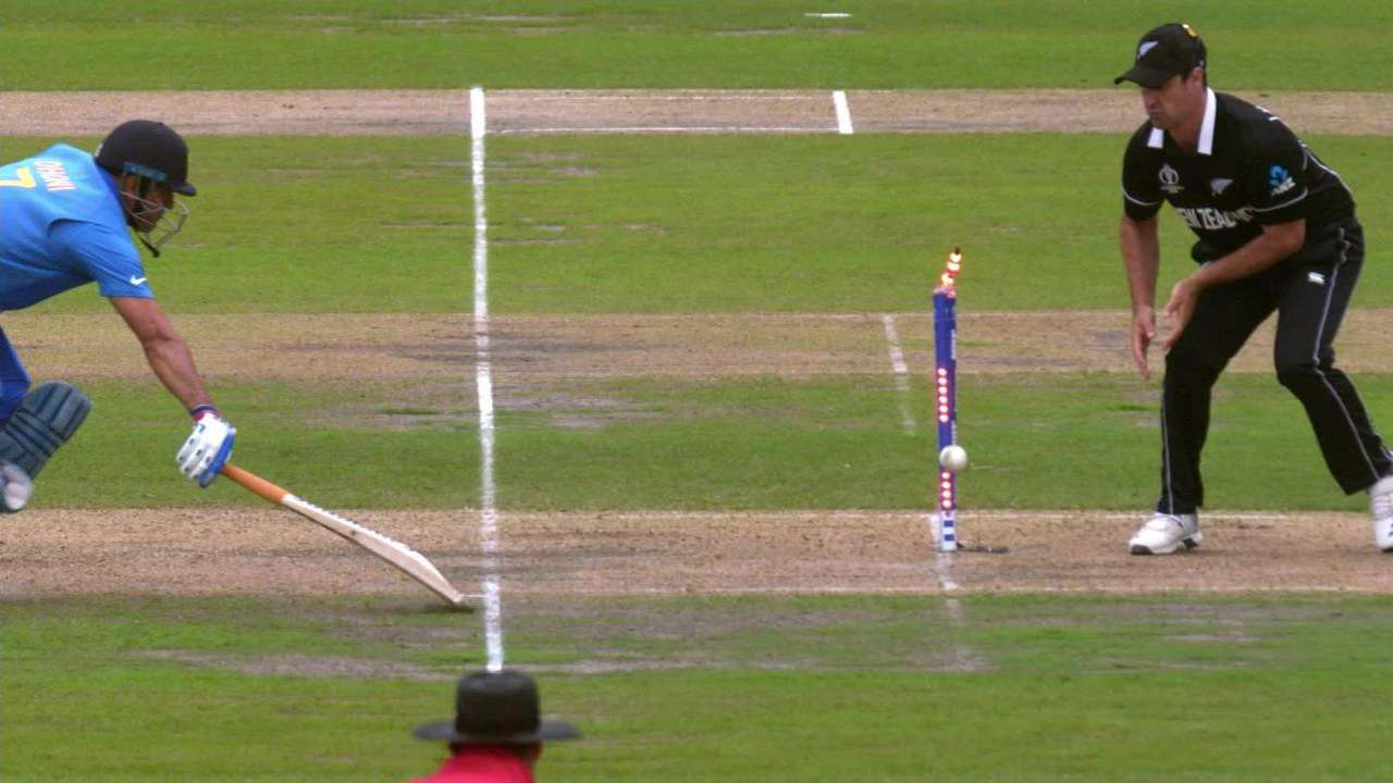 Dhoni's run-out decided the fate of the game