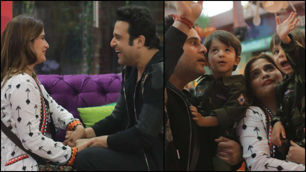 'Bigg Boss 13': Krushna Abhishek and his twin boys surprise Arti Singh during captaincy task; family gets emotional