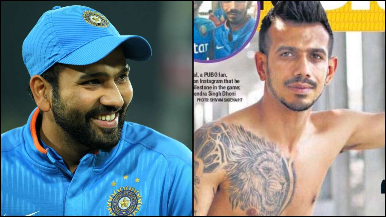 'India wins series but someone else takes headlines': Rohit Sharma teases Yuzvendra Chahal for his shirtless photo