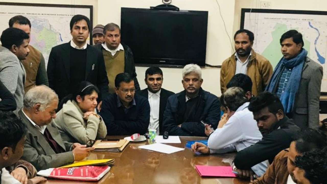 'Token no. 45': As Kejriwal waits for his turn to file nomination on last day, AAP alleges conspiracy