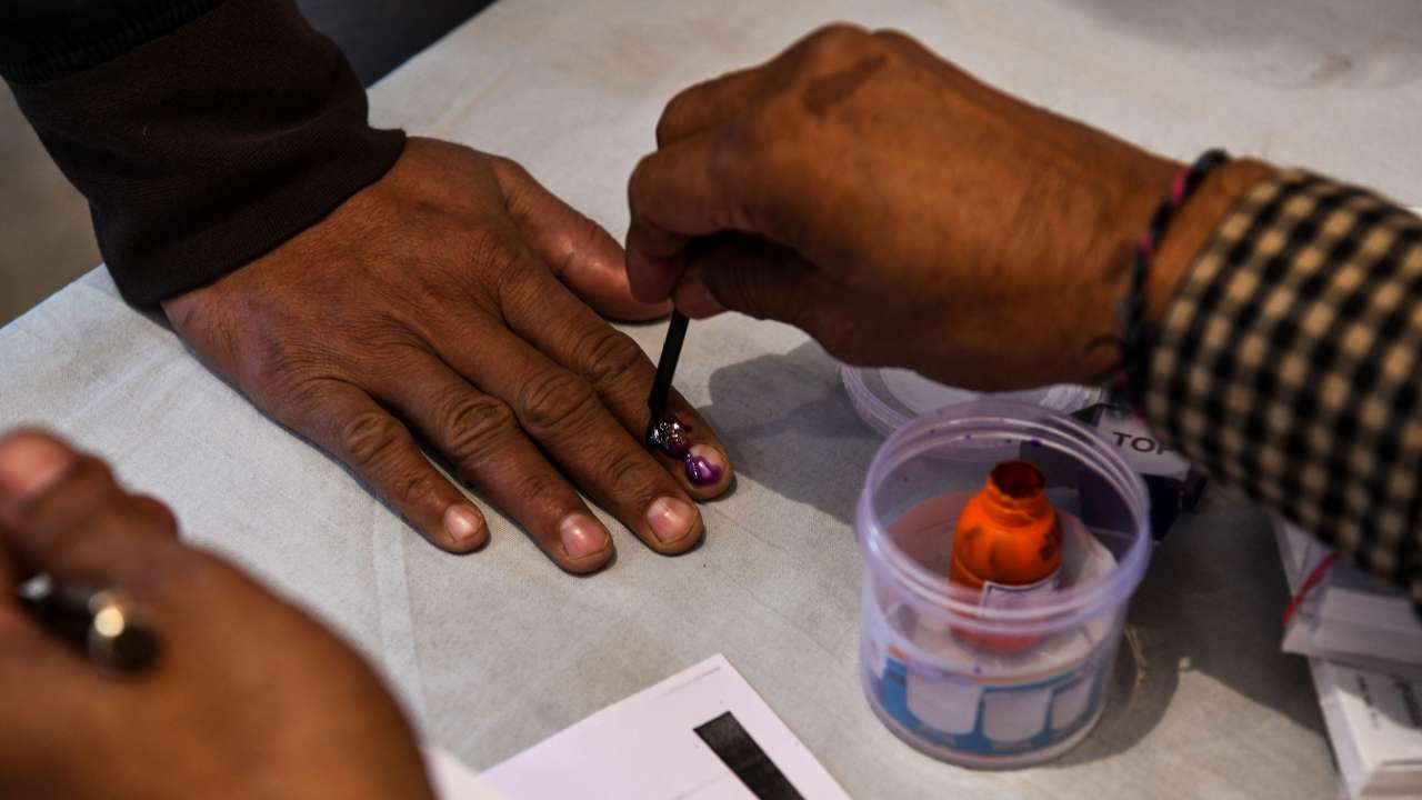 Voting for 120 municipal councils, nine municipal corporations in Telangana on Wednesday