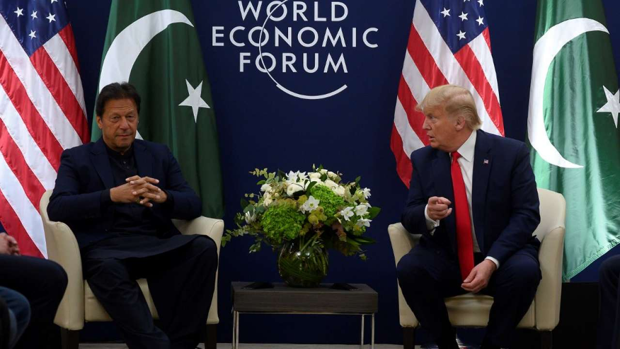 'Talking about Kashmir': Donald Trump after Davos meeting with Pak PM Imran Khan