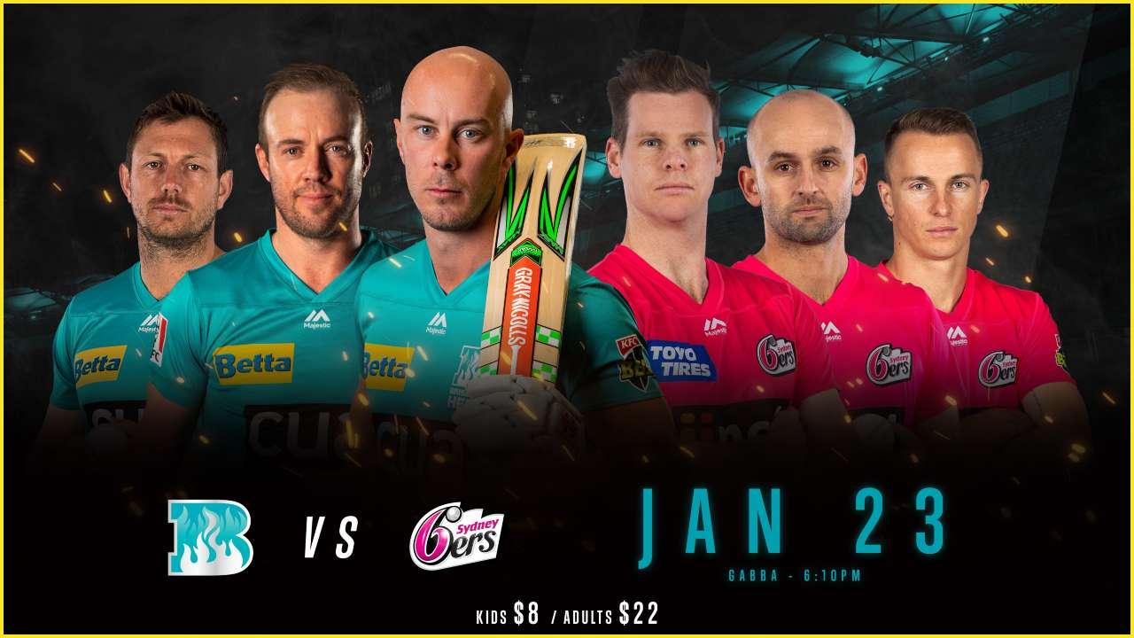 Brisbane Heat vs Sydney Sixers, Dream11 Prediction: Best picks for HEA vs SIX today in BBL 2019-20