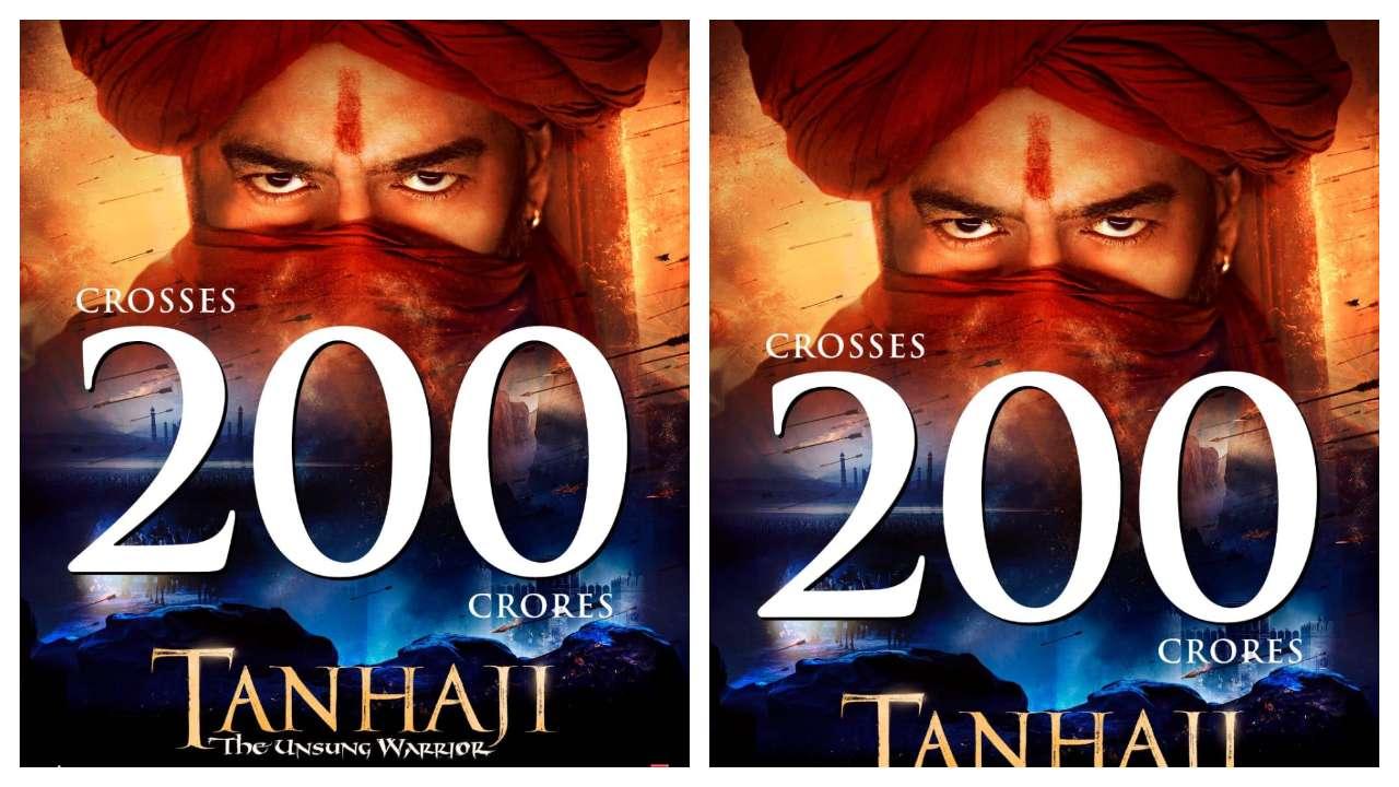 'Tanhaji: The Unsung Warrior' Box Office update: Ajay Devgn, Saif Ali Khan starrer crosses 200 cr mark