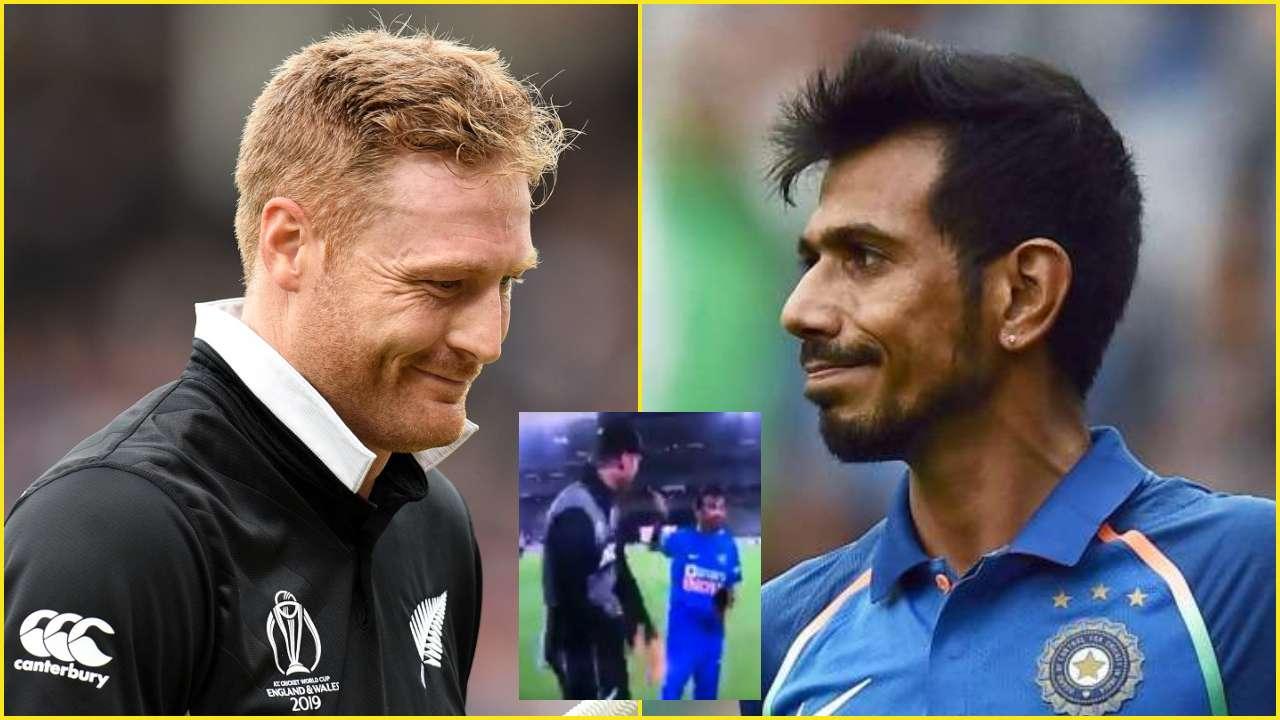 WATCH: Martin Guptill calls Yuzvendra Chahal 'G****' on live TV after NZ vs IND 2nd T20I