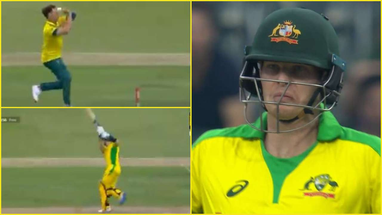WATCH: Steve Smith's reaction after hitting Dale Steyn's dead delivery for four in SA vs AUS 1st T20I