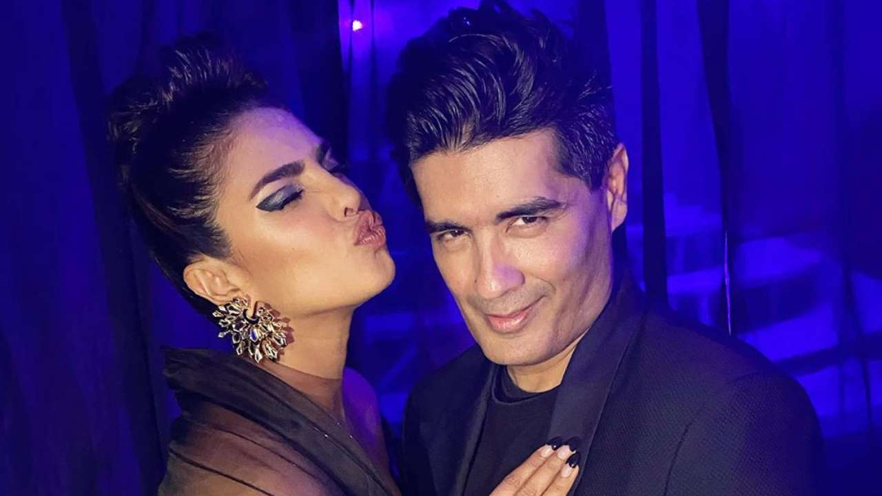 'Two people who really like each other': Manish Malhotra shares photo with Priyanka Chopra amidst fallout rumours