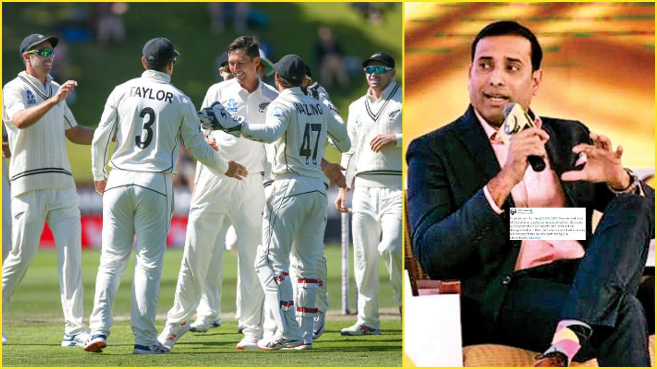 NZ vs IND: VVS Laxman lauds New Zealand's 'discipline, patience' in first Test against India