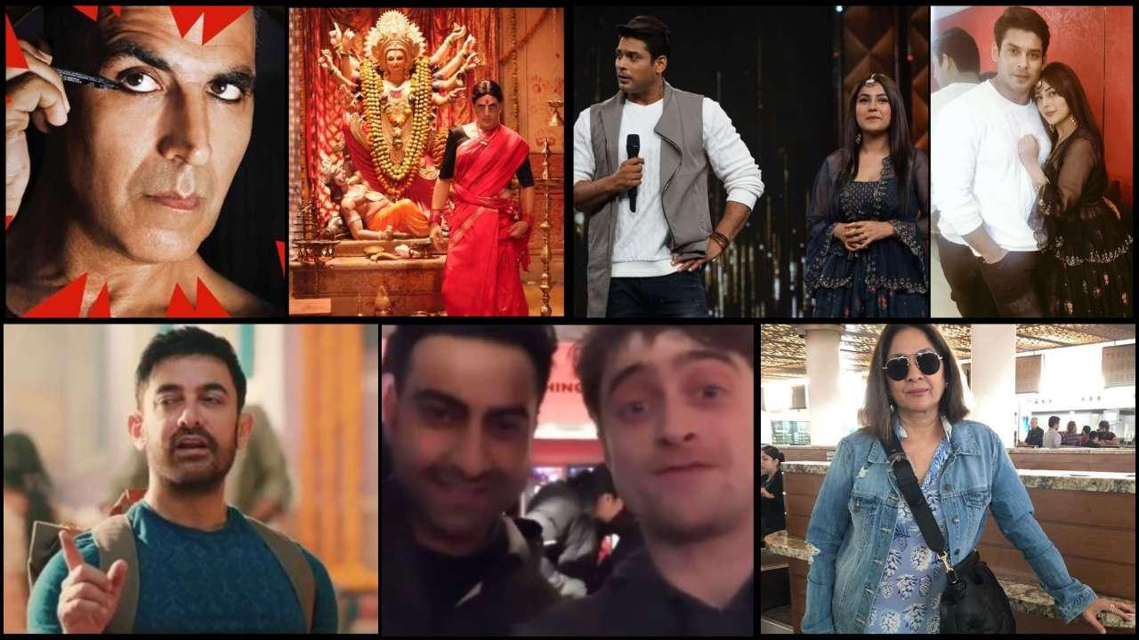 Latest Bollywood News: Aamir Khan to make digital debut, Sidharth Shukla-Shehnaaz Gill break Internet and more