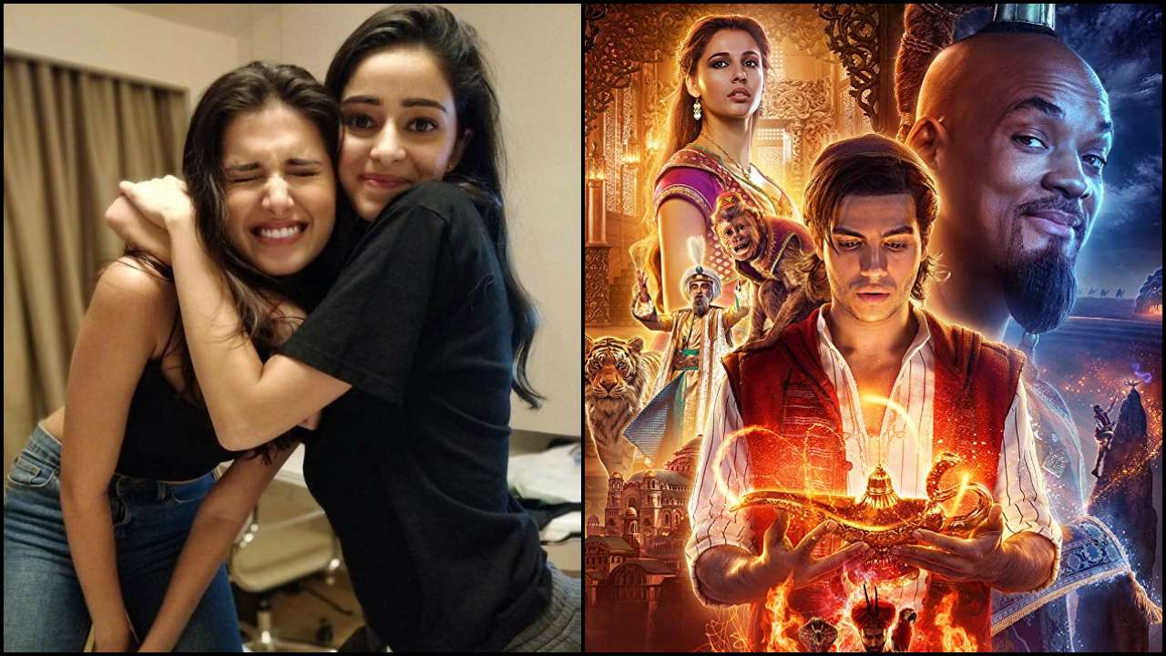 Not only Tara Sutaria but Ananya Panday also auditioned for live-in action 'Aladdin'; here's why she got rejected