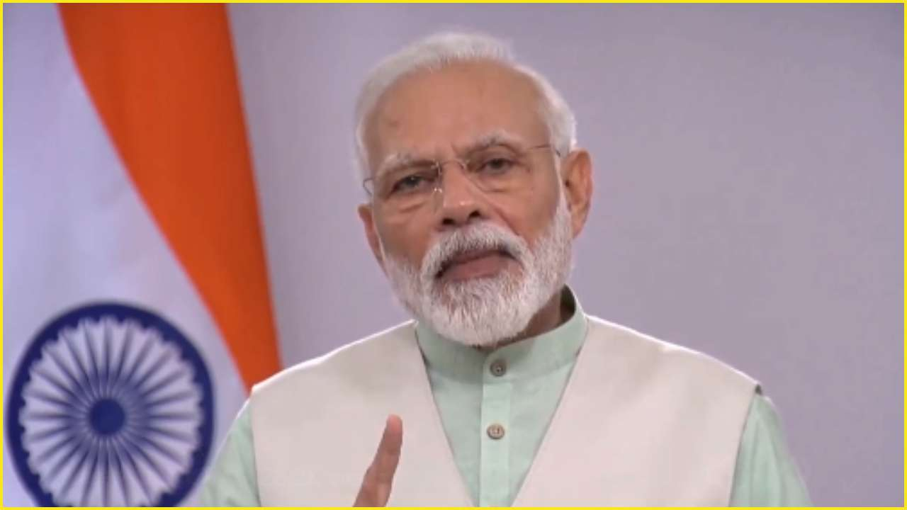 'Switch off all lights in your homes for 9 minutes at 9 PM on Sunday': PM Modi shares video message with nation