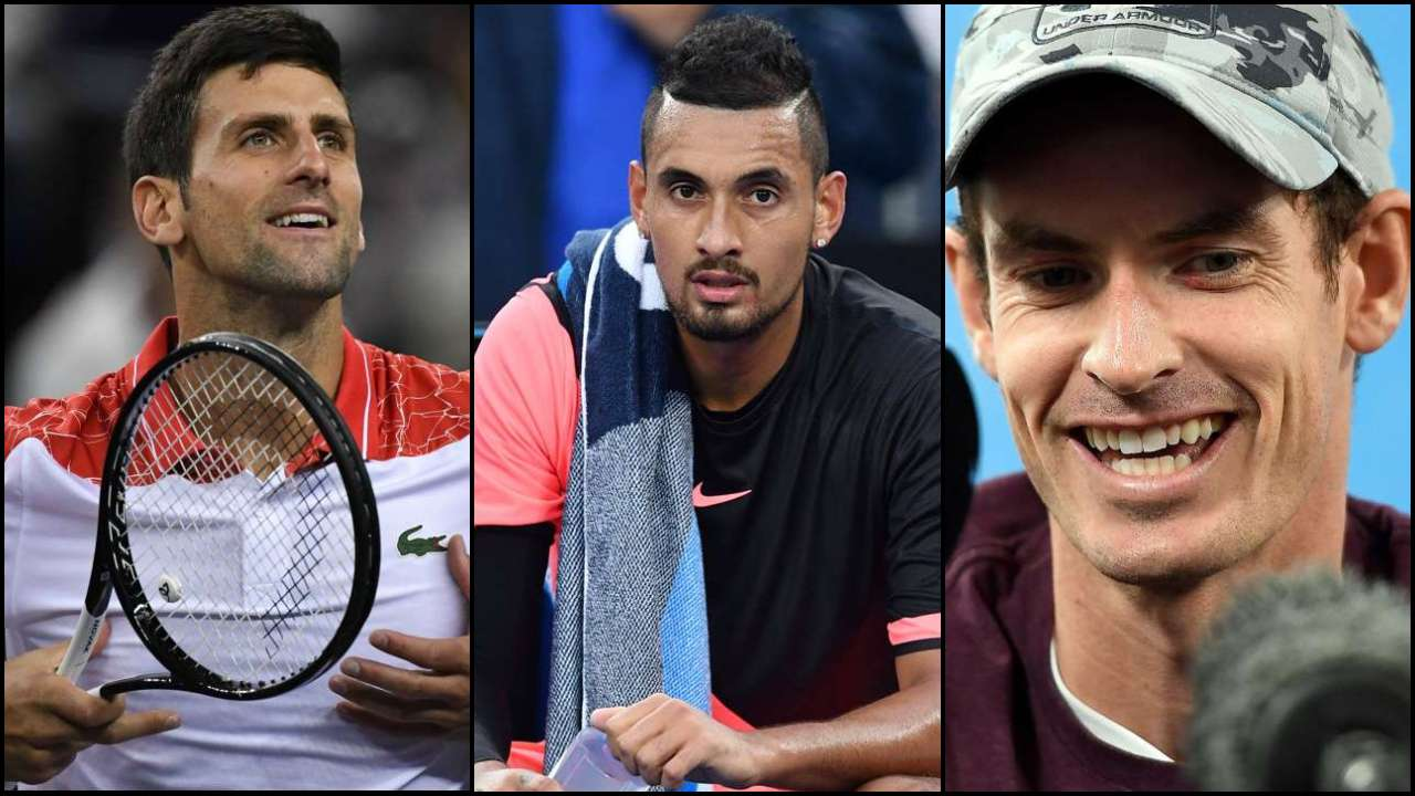 I Think You Are Better Than Djokovic Nick Kyrgios Tells Andy Murray During Wine Fuelled Instagram Chat