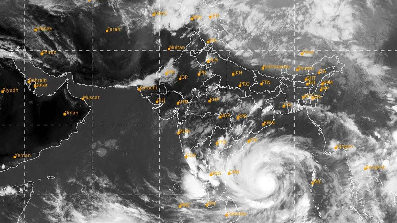 Cyclone Amphan further intensifies into 'Very Severe Cyclonic Storm'