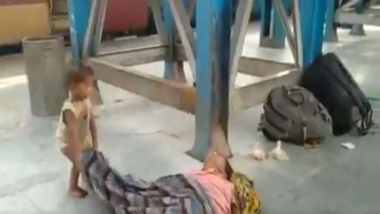 Toddler tries to wake up dead mother at Bihar's Muzaffarpur ...