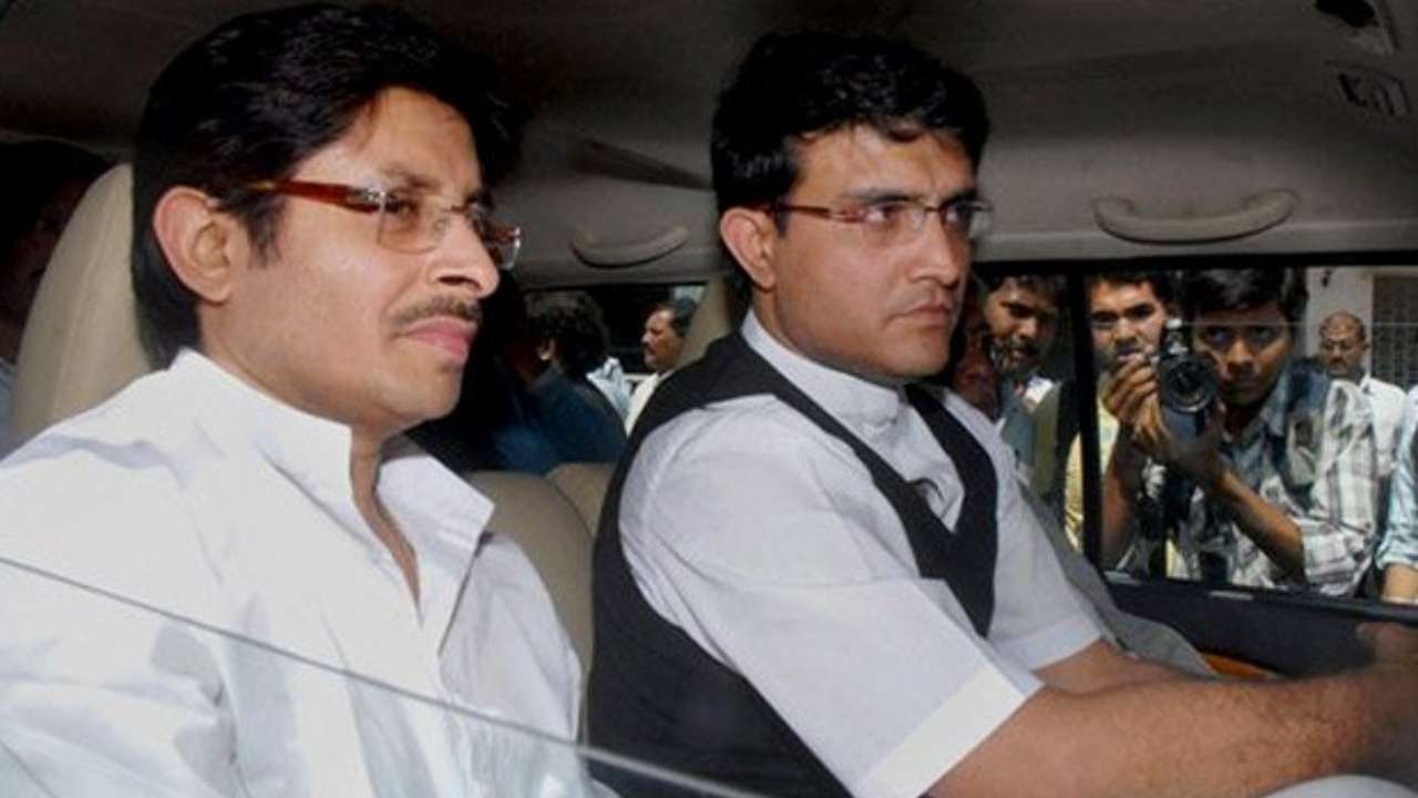 Snehasish Ganguly with brother Sourav Ganguly , Twitter file photo