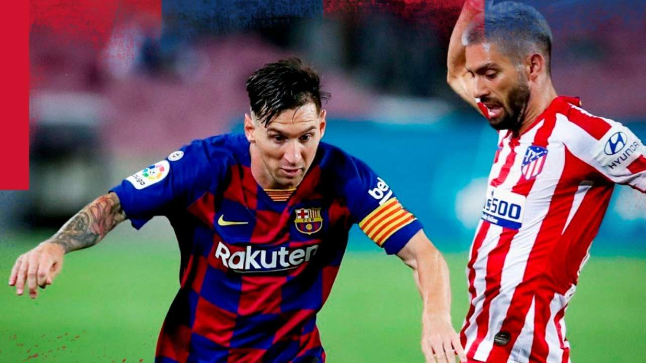 La Liga Lionel Messi S 700th Career Goal Does Not Help Barcelona Defeat Atletico Madrid As They Draw 2 2