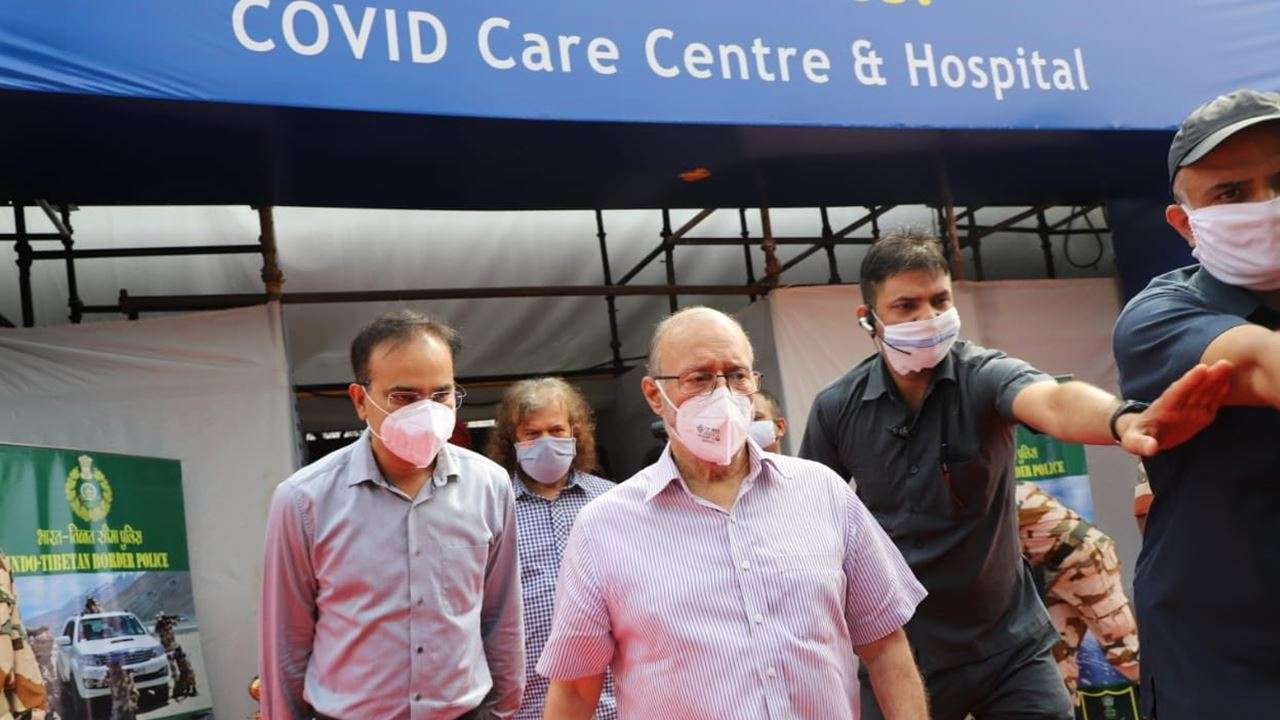 Delhi L-G inaugurates world' 'largest' COVID-19 care centre with 10,000 beds in Chhatarpur