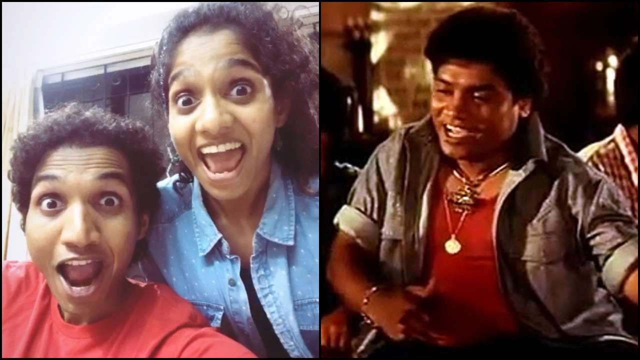 Like father like children! Jamie Lever-Jesse Lever recreate dad Johnny Lever's 'Aslam Bhai' with epic expressions